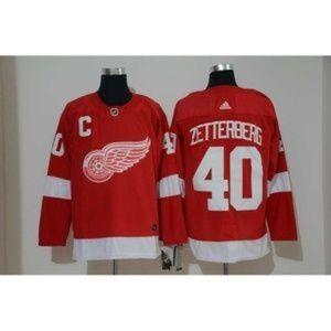 Detroit Red Wings Henrik Zetterberg #40 Jersey